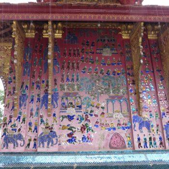 prachtige mozaieken Vat Xieng Thong