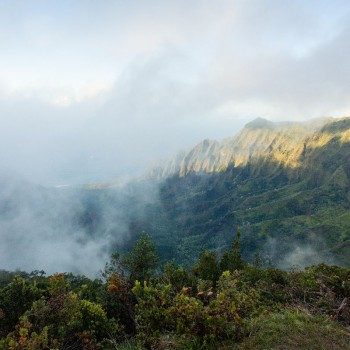 Stukje Napali Coast, maar dan vanaf de Waimea Canyon