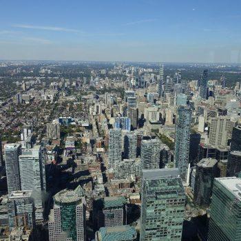 Uitzicht vanuit de CN-Tower