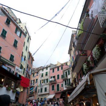 Straatjes in Cinque Terre