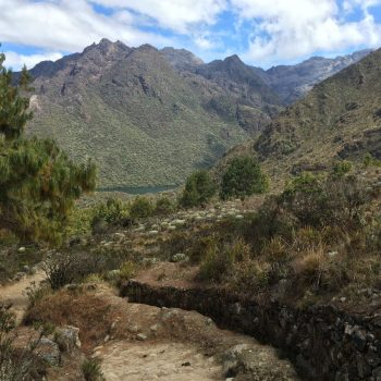 sierra nevada in Andes