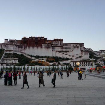 Potala Palace - het paleis van de dalai lama in Lhasa