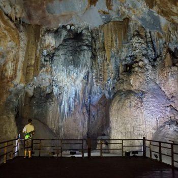 Aan het einde van de Paradise Cave