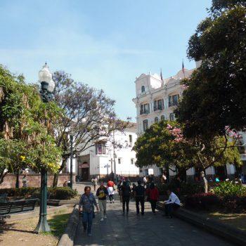koloniale gebouwen en leuke straatjes in Quito