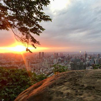 Uitzicht over Tapei