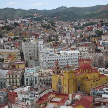 Uitzicht op Guanajuato