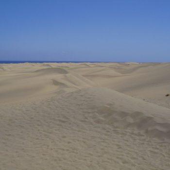 Klein stukje woestijn op Gran Canaria