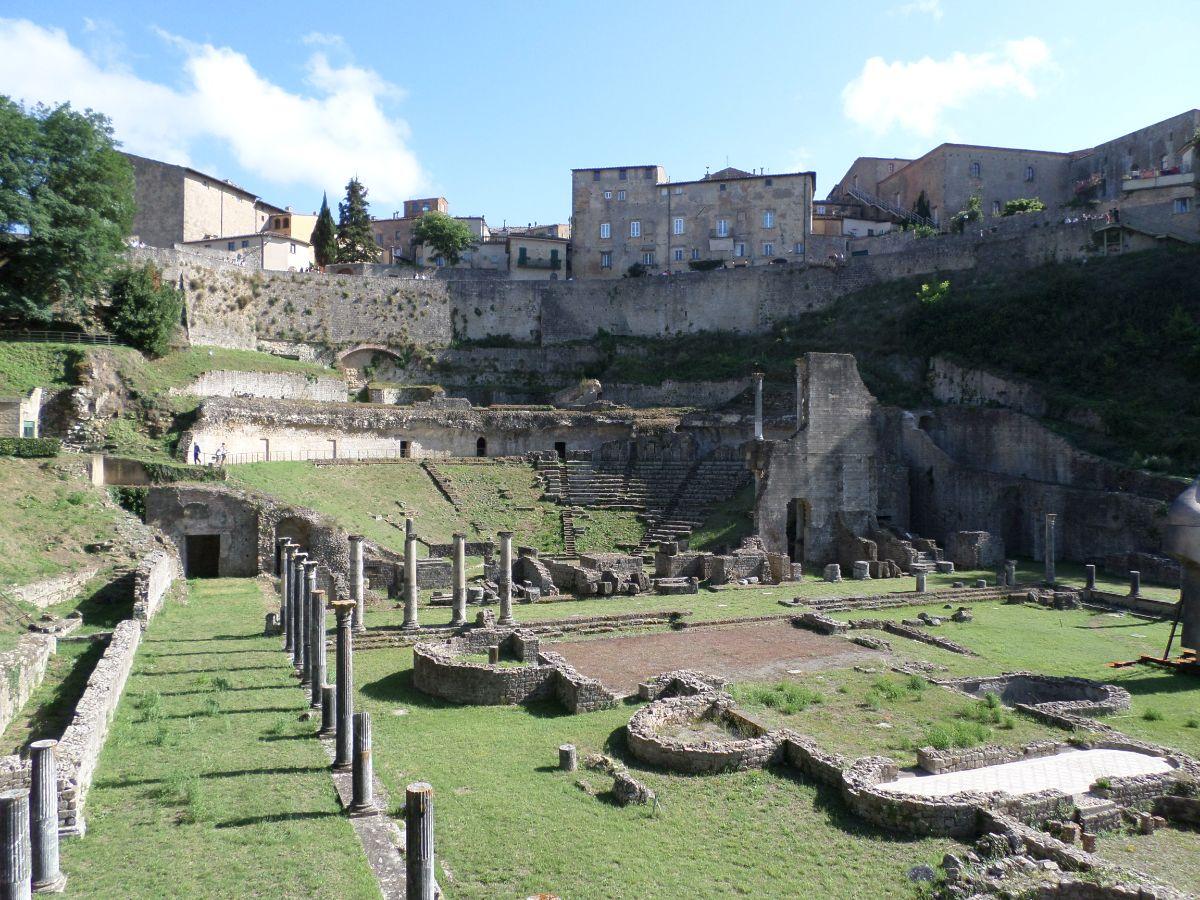 Romeins theater in Volterra