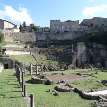 Romeins theater in Volterra