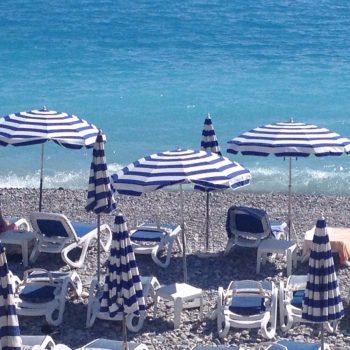 Parasols in Nice