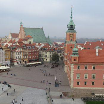 Warschau vanaf een toren (4zloty per ticket)