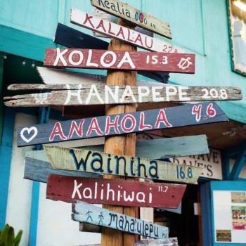 Het alfabet kent in Hawaii maar 13 letters