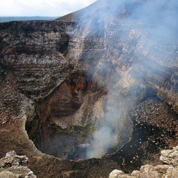 Masaya vulkaan krater