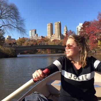Bootje varen in Central Park