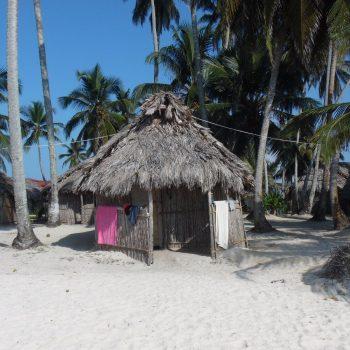 ons hutje op de San Blas