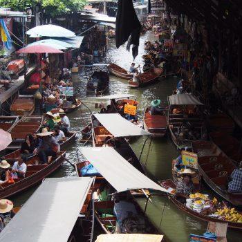 De drijvende markt.