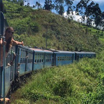 Train ride Kandy to Ella