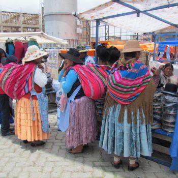 El Alto markt