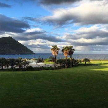 Uitzicht vanaf hotel Terceira Mar