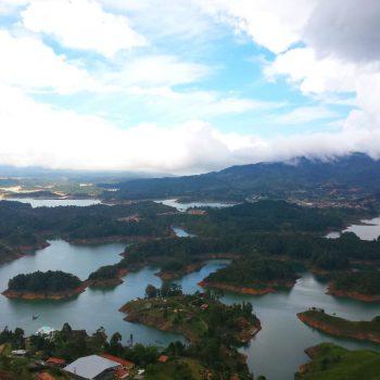 Uitzicht vanaf La Piedra