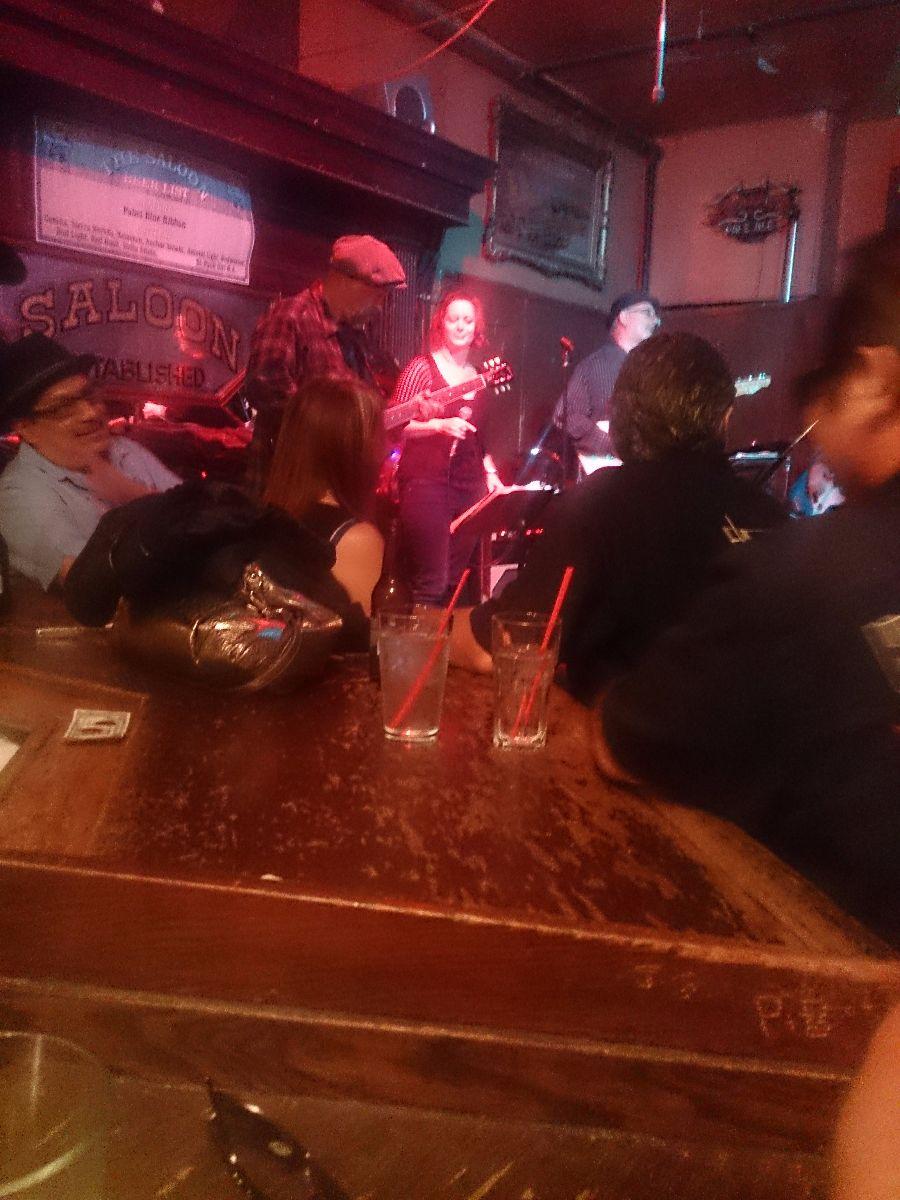 The Saloon, de oudste (blues) bar van San Fransisco.