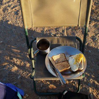 Ontbijtje in het mooiste stukje Namibie