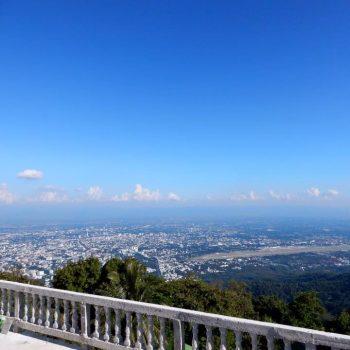 Uitzicht vanaf Wat Doi Suthep