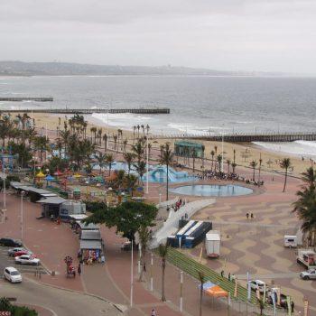De boulevard van Durban