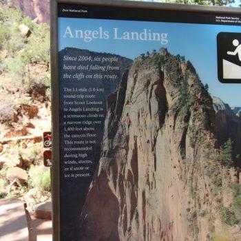 Zion Angels Landing