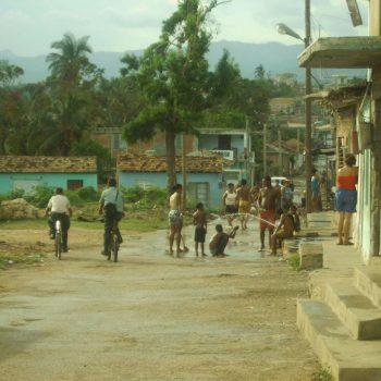 ontspannen sfeer in Trinidad