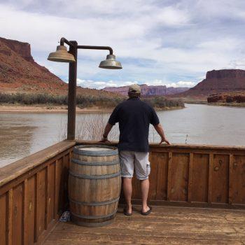 Coloradoriver bij Moab Utah