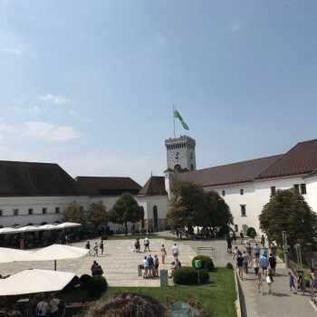 In het Ljubljanski Grad