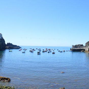Camara de Lobos, een pittoresk vissersdorpje waar door de plaatselijke vissers op de peixe Espada gevist wordt.