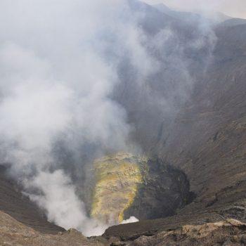 Op de kraterrand