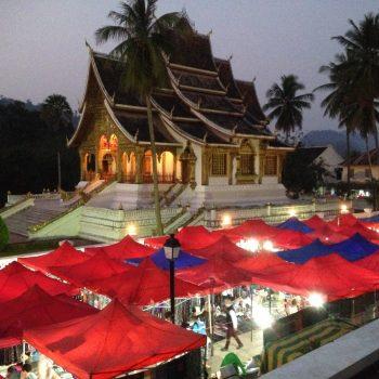 Avondmarkt Luang Prabang