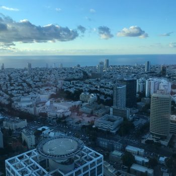 Uitzicht vanuit het Azrieli Center