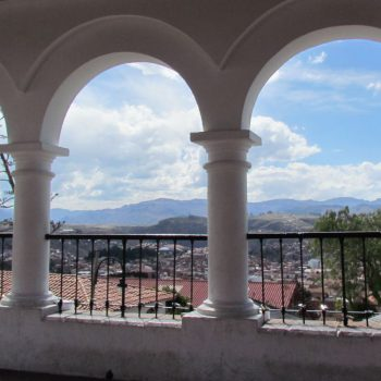 Viewpoint over Sucre
