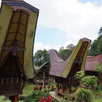 De traditionele huizen