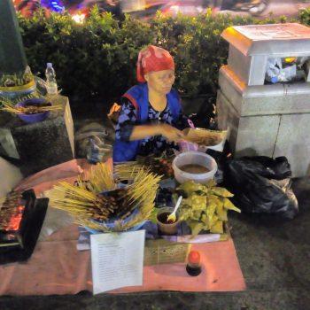 straatverkoopster Yogyakarta