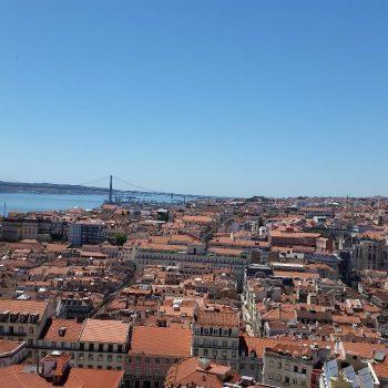 Uitzicht vanaf Castelo de Sao Jorge