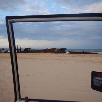 Fraser Iland rijden in jeeps over het grootste strandeiland ter wereld