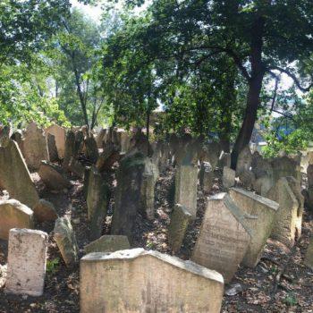Joods kerkhof in de Joodse wijk