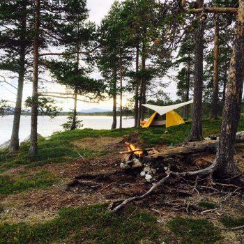 Wild kamperen, weg uit de dagelijkse drukte.