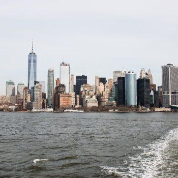 Vanaf de Staten Island Ferry
