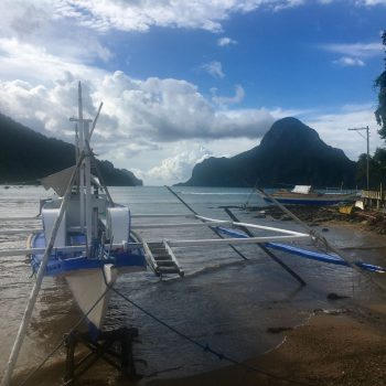 Zeilen in Palawan