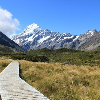 Hiking pad hooker valley