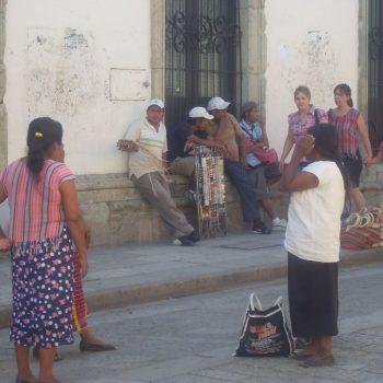 Straatbeeld Oaxaca