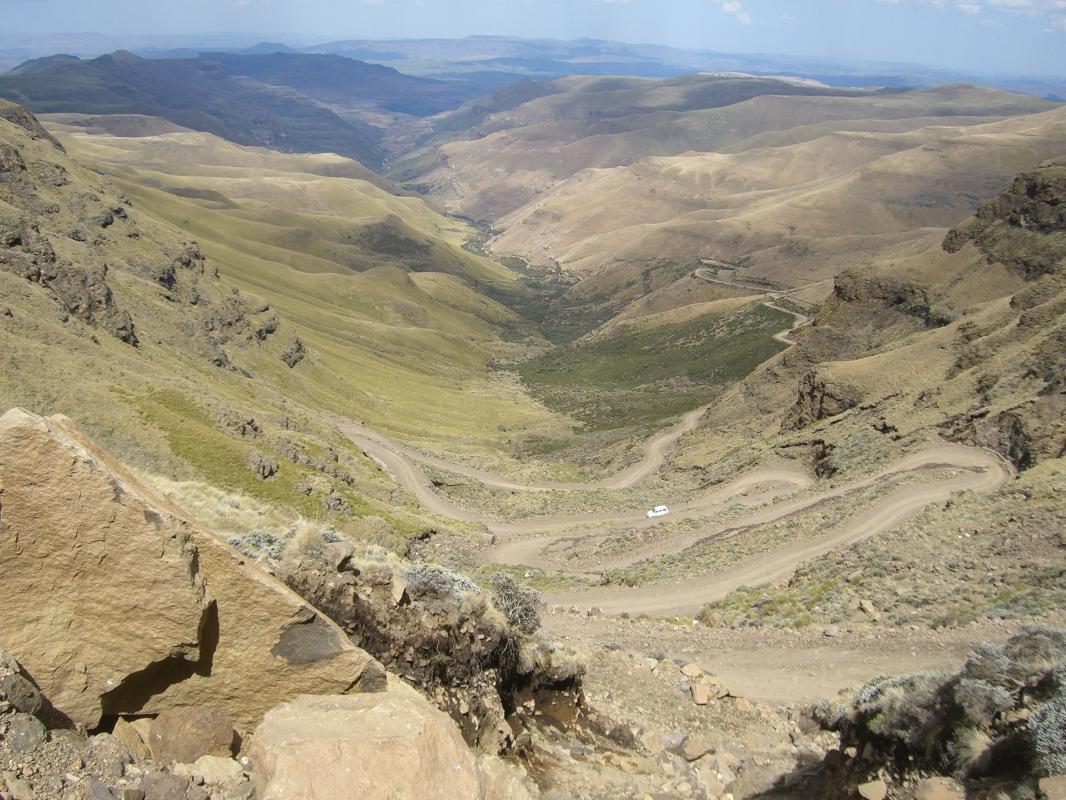 Sani Pass naar Lesotho