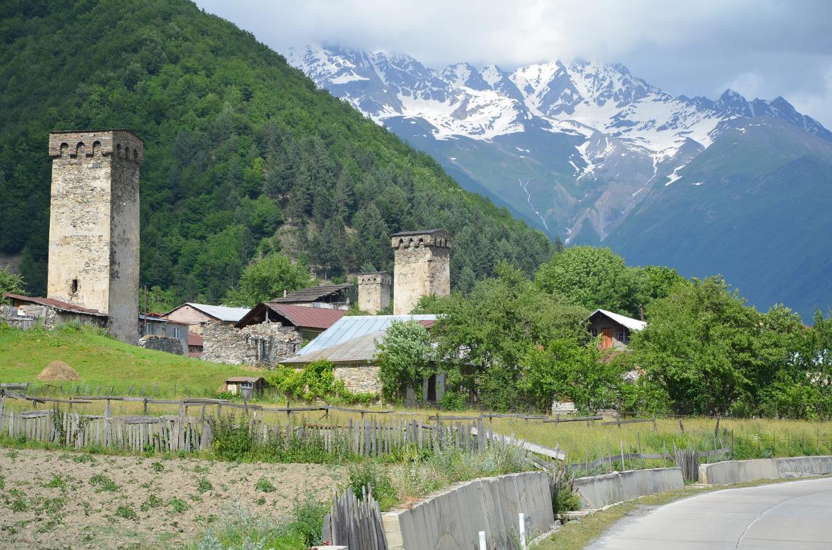 Sveneti toren in Mestia