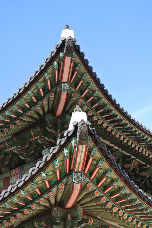 Changdeokgung, een van de vier paleizen in Seoul